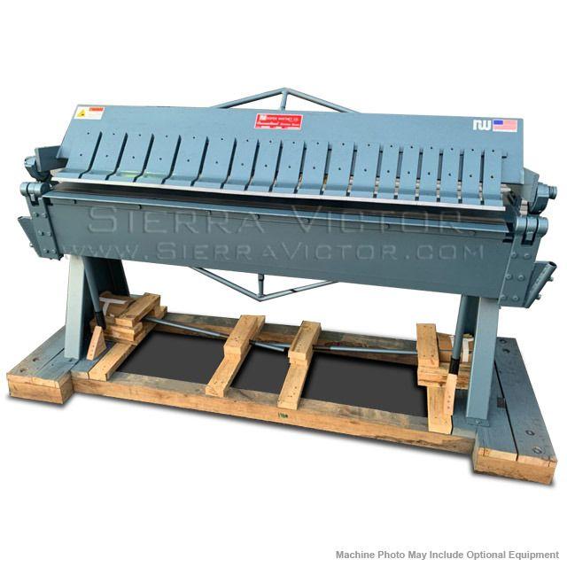 Hbu48 16 Tennsmith 4 Foot Heavy Duty Box Pan Brake 16 Gauge Hand Brake Machinery For Sale Metal Fabrication Tools