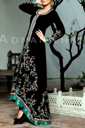 Black Pakistani Bridal Dress
