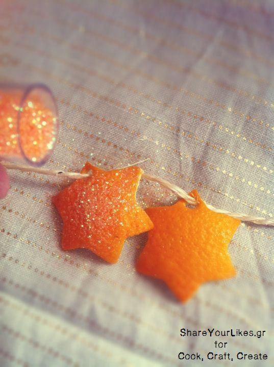 Φτιάξε Χριστουγεννιάτικη Γιρλάντα Πορτοκάλι! - Shareyourlikes