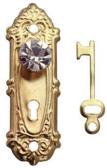 Doll House - Door fixtures - for fairy doors