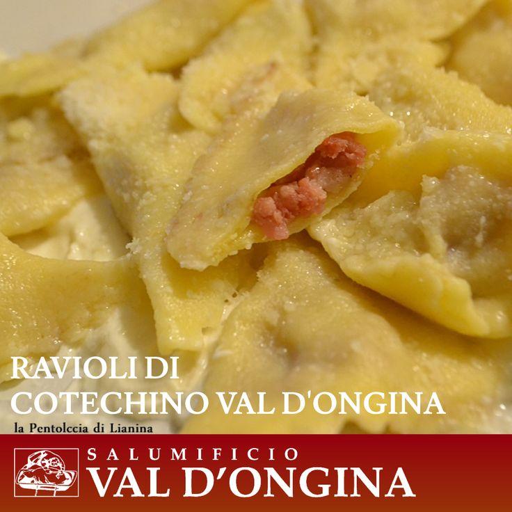 Grazie al blog LA PENTOLACCIA DI LIANINA che ha realizzato dei gustosissimi ravioli con il nostro cotechino! Potete leggere la ricetta a questo link. http://blog.giallozafferano.it/lianina/2014/12/25/ravioli-di-cotechino/
