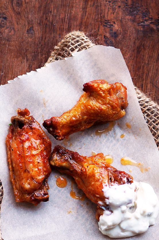 5 Ingredient Baked Buffalo Wings Recipe