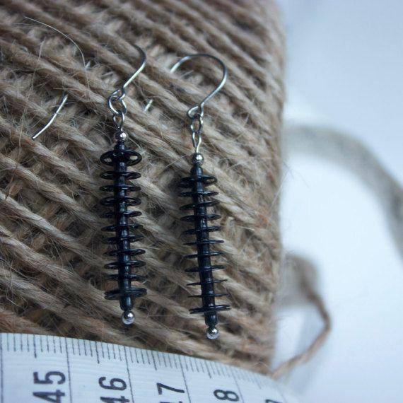 """earrings """"caterpillar"""""""