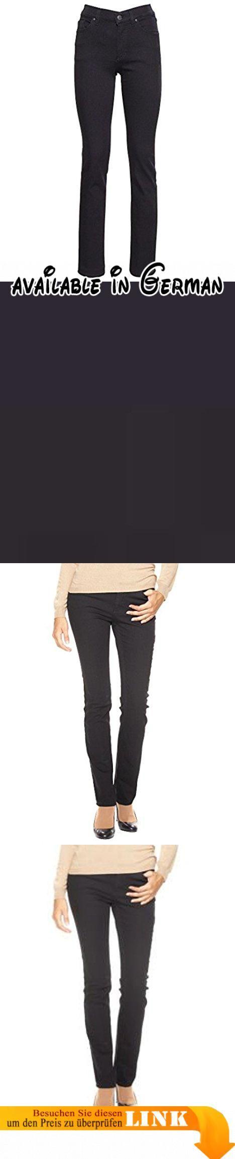 "Angels Damen Jeans ""Cici 74"" black (85) 44/30. Material: 85% Baumwolle,13% Polyester,2% Elasthan. Teile tierischen Ursprungs: Nein #Apparel #PANTS"