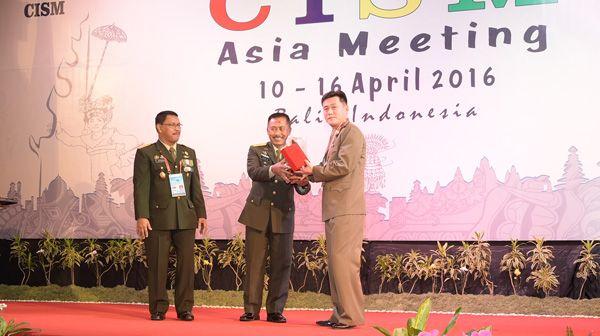 Humaniora : Presiden CISM Asia: Ini Sangat Penting, Indonesia Punya Ide Bagus-read