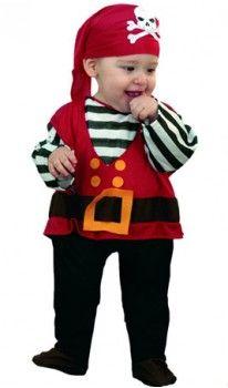 Disfraz de Pirata Calavera bebé