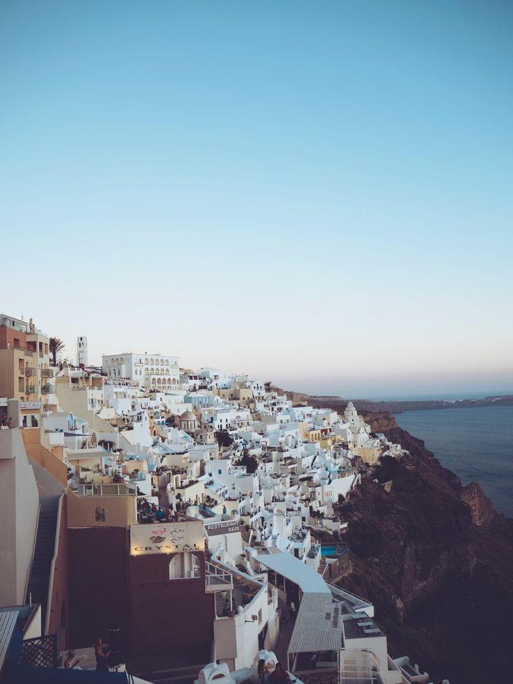 Oia view - Santorini - Greece