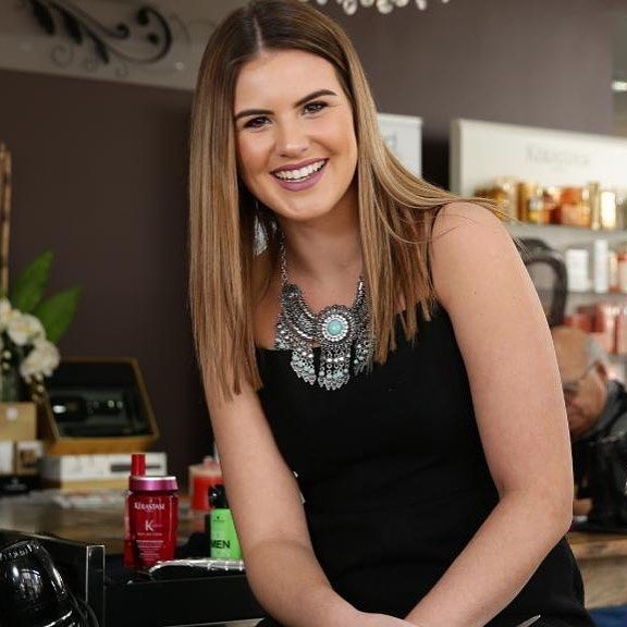 """What a stunner! Monique from our Parramatta Salon spoke alongside director Sarkis Akle in The Herald Sun about her experiences in taking up an apprenticeship. """"When I stopped my studies to follow my passion and join Hair by Phd as an apprentice I can honestly say it's been the best decision I ever made."""" Read the full article by clicking the link in our profile    #hairbyphd #apprenticeships #parramatta #smallbusiness #hairdresser #balayage #hairandbeauty #hairandbeautyindustry…"""