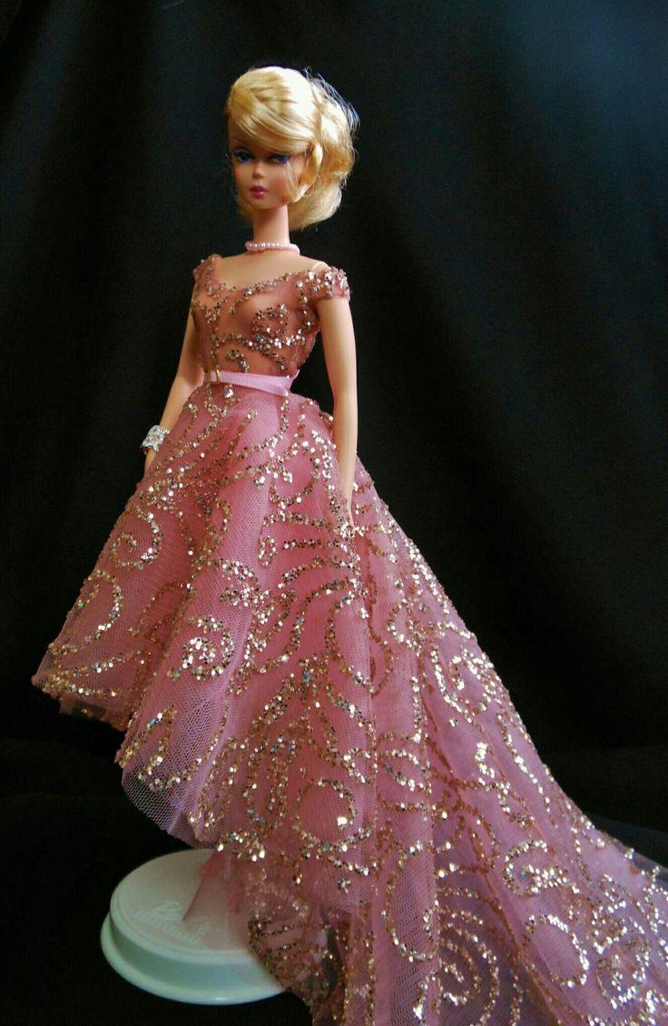 Beautiful pink dress for Silkstone BArbie