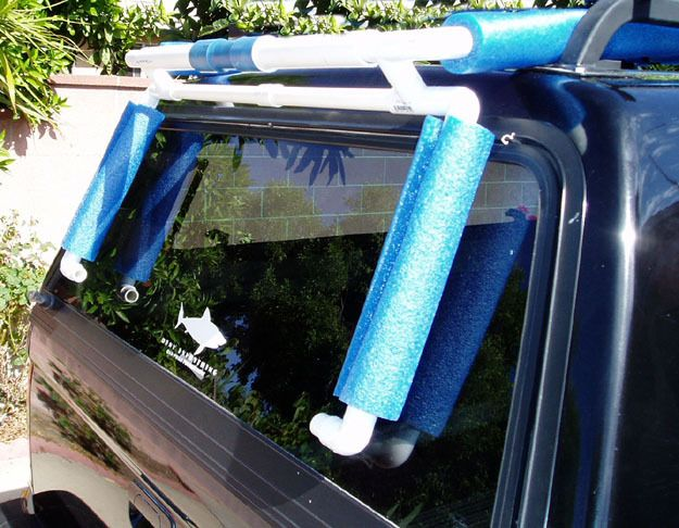 How to build your own kayak cart, kayak rack, hully roller and a bunch of other…