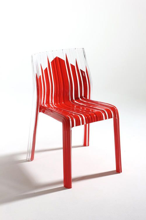 Frilly Chair Reproducts The Duomo Silhouette. Deseign Patricia Urquiola  Made In Milan By Kartell Nice Ideas