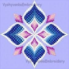 Resultado de imagen de bargello embroidery stitches