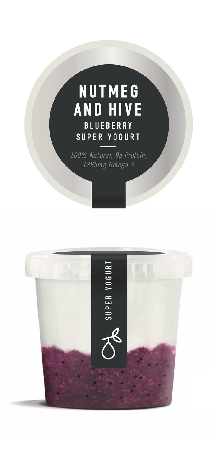 Blueberry Super Yogurt