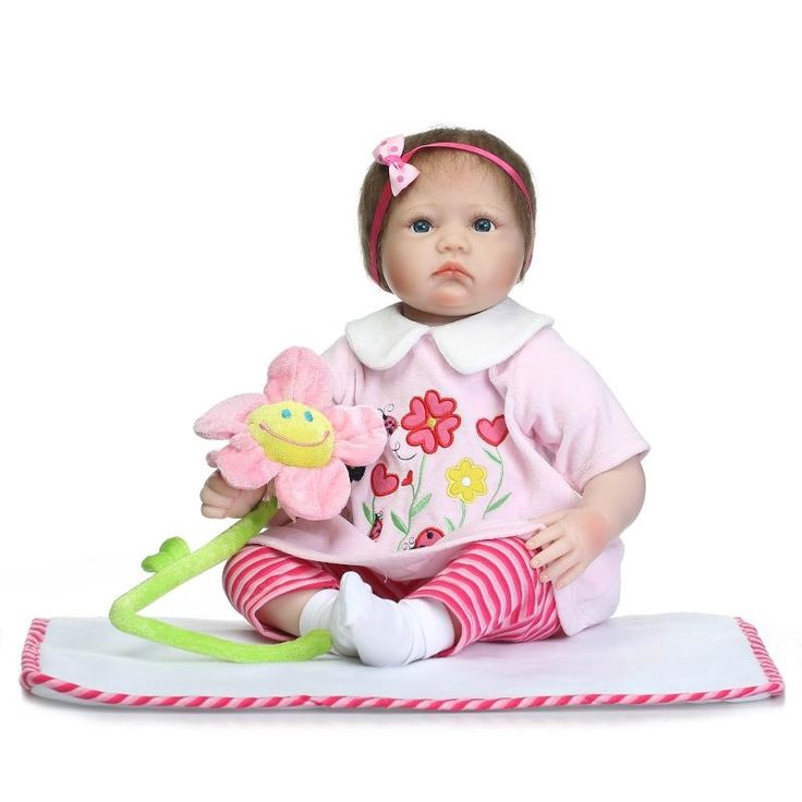 (78.01$)  Watch now - http://aim3w.worlditems.win/all/product.php?id=32798851157 - Super Lovely 55cm Reborn Baby Dolls For Sale With Soft Two Pieces Suit Wholesale Good Price Doll Baby Alive As Bebe Brinquedos