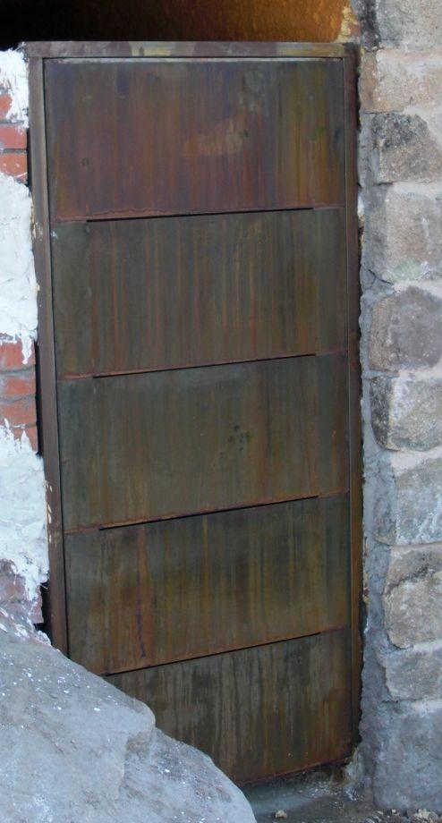 puerta Corten