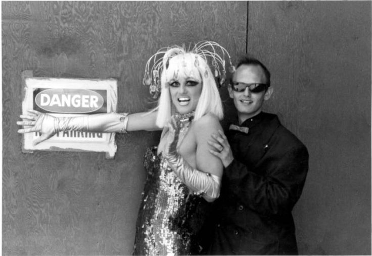 John Canalli and drag queen :: ONE National Gay and Lesbian Archives