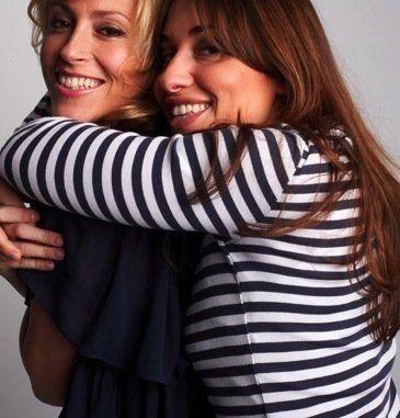 Nicole Appleton and Melanie Blatt