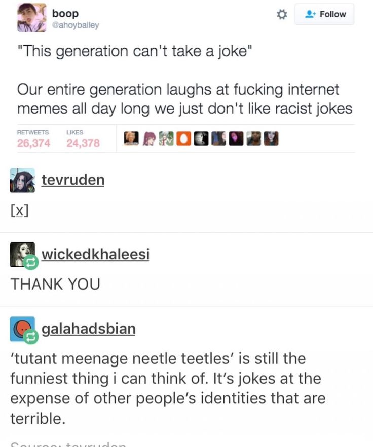 """Best response to a secist/racist /homophobic 'joke' is """"I dont get it, can you expkain it"""""""