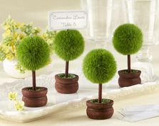 """Kate Aspen """"Topiary Photo Holder/Place Card Holder (Set of Four)"""