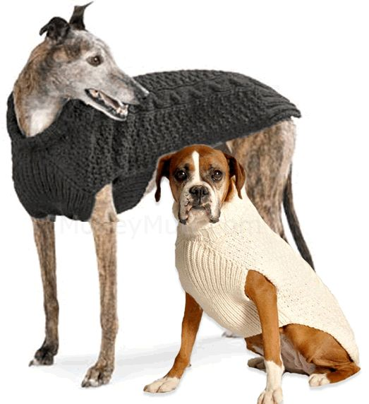 1000+ images about Dog sweaters to KNIT & Crochet.. Patterns on Pinterest...