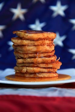 Uses for quesadilla maker--Cinnamon Spice Pancakes