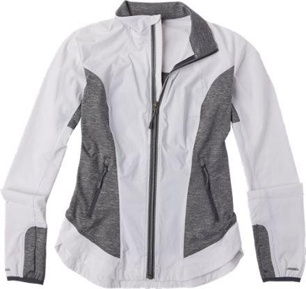 Mountain Hardwear Women's Mighty Power Hybrid Jacket White/Graphite XS