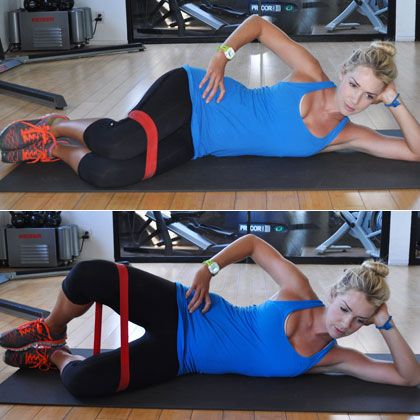 The Clam Shell: An IT band stretch that will protect your lower body from getting sore. Here's how to do it correctly: http://www.shape.com/fitness/cardio/get-loose-best-it-band-stretches?page=2