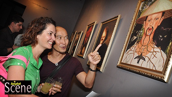 Cryptoart Exhibition by The Raf Opens at Eat Me Restaurant in Bangkok. Words and photos by Paul Hutton, Bangkok Scene.