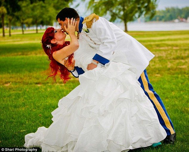 The Little Mermaid Wedding And Yes I Will My Hair Red Just Like That