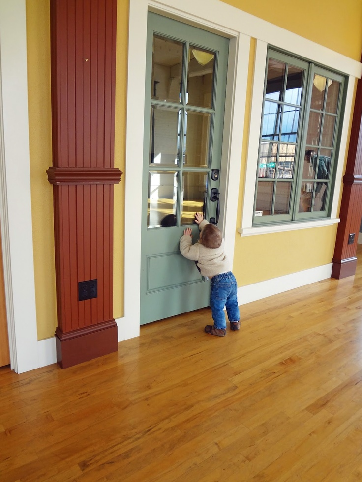 Painted simpson 7506 exterior door with beveled glass for Simpson doors