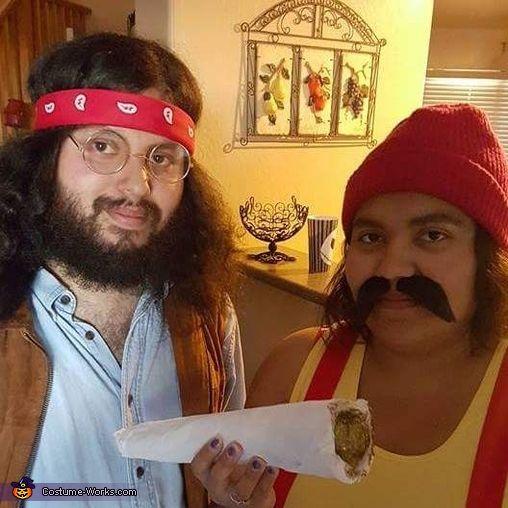cheech and chong 2016 halloween costume contest via costume_works - Halloween Costumes With Facial Hair