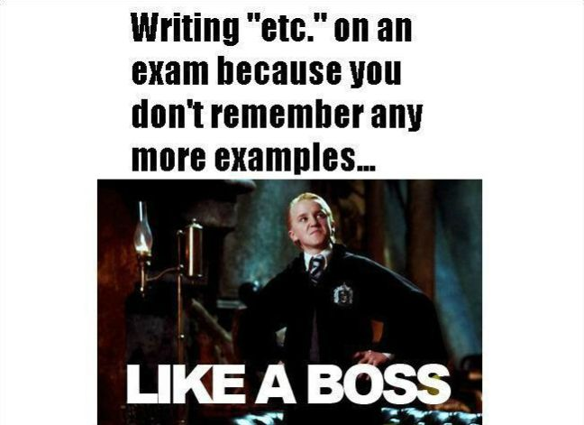 College Memes, Final Exams Edition #2: Guest Starring Ryan Gosling, Draco Malfoy & Will Smith | College Media Matters