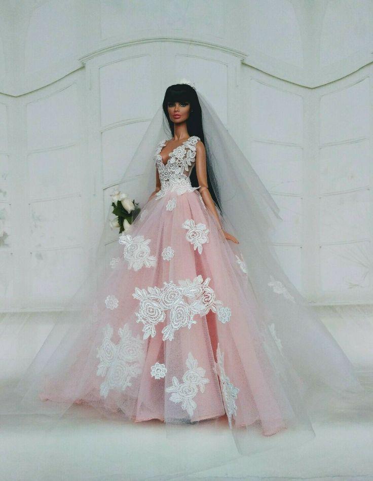 outfit wedding dress for fashion royalty doll fr2 barbie ebay