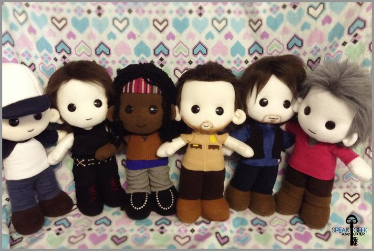 Found on Craftster! These are TOO cute. We are.. The Walking Dead - TOYS, DOLLS AND PLAYTHINGS