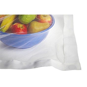 Tableware & Napery - Briscoes - Just Home White Buzz Off Food Cover 140x140cm