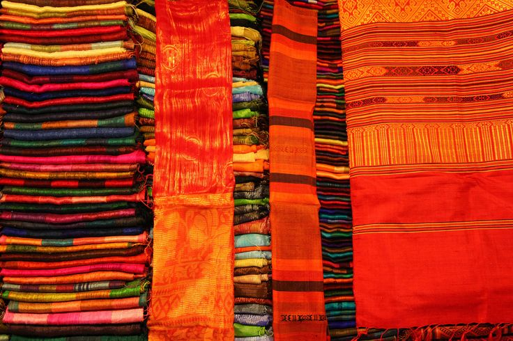 Colours from the night market