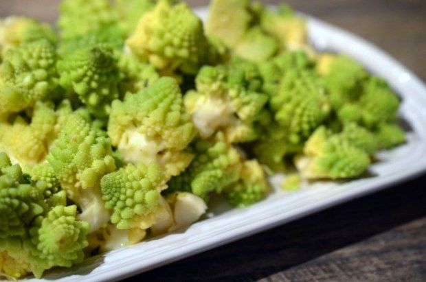 Thyme Buttered Romanesco recipe - perfect quick side dish!