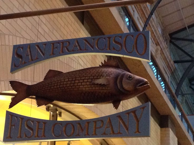 17 best images about sign ideas on pinterest cafe sign for Fish store san francisco
