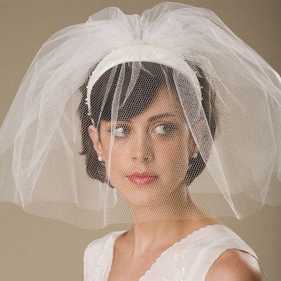 Veils Headpieces Short: 17 Best Images About Bridal On Pinterest