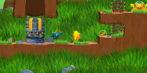 In Toki Tori, the player controls a little yellow chicken determined to save all the lost eggs. Armed with an arsenal of 10 different tools and weapons, Toki Tori must overcome dangerous obstacles, trap monsters and save all of the lost eggs.  http://downloadgamestorrents.com/pc/toki-tori-2-pc.html - free download