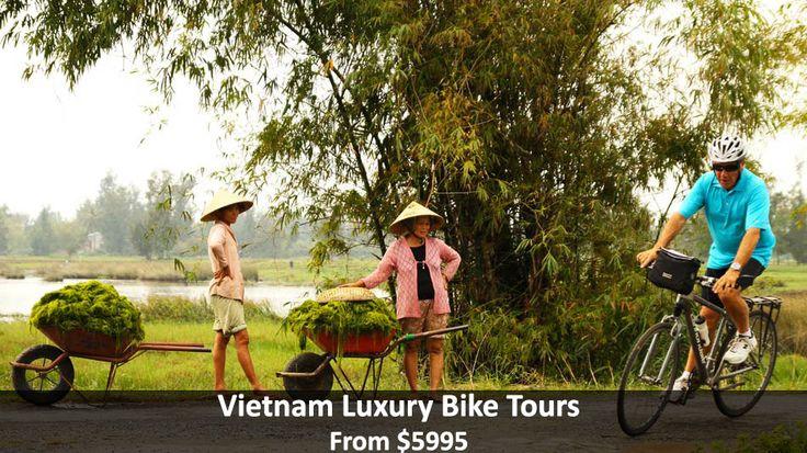 Vietnam Luxury Bike Tours - https://traveloni.com/vacation-deals/vietnam-luxury-bike-tours/ #luxuryvacation #cyclevacation #asia #vietnam