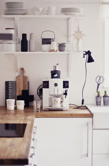 주방 디자인3: 우드 느낌의 주방 인테리어 _ 주방타일과 소품의 조화 : 네이버 블로그