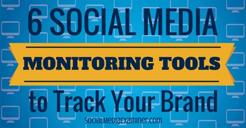 6 Social Media Monitoring Tools to Track Your Brand: Social Media Examiner #brand #management, #social #media #monitoring #tool, #listening #tool http://design.nef2.com/6-social-media-monitoring-tools-to-track-your-brand-social-media-examiner-brand-management-social-media-monitoring-tool-listening-tool/  # 6 Social Media Monitoring Tools to Track Your Brand Do you monitor online conversations? Are you looking for new tools to track your mentions? Whether you want to observe quietly, learn…
