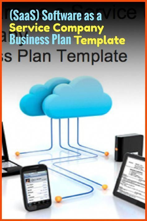 Saas Software As A Service Company Business Plan Template