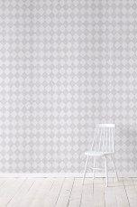 Wallpaper by ellos Tapet Harmony ljusgrå Ljusgrå - Mönstrade tapeter | Ellos Mobile