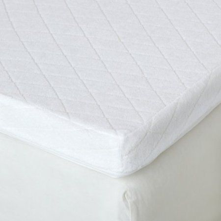amazoncom isotonic ultimate memory foam king mattress topper with velour cover