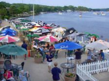 Port Edward Restaurant - A Nautical Adventure in Algonquin Illinois  - Drinks here on a lovely Saturday afternoon.