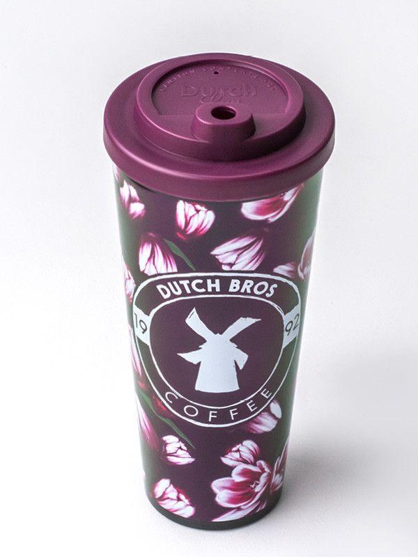 dutch bros travel mug. $10