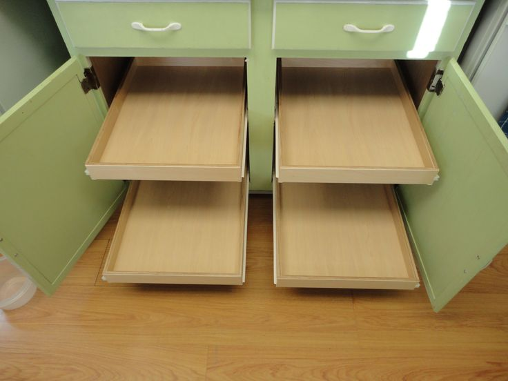 Older cabinets can be retrofitted and updated with pull out shelves from  slideoutshelvesllc com76 best Pull Out Shelves Kitchen Cabinets images on Pinterest  . Pull Out Shelves For Kitchen Cabinets. Home Design Ideas
