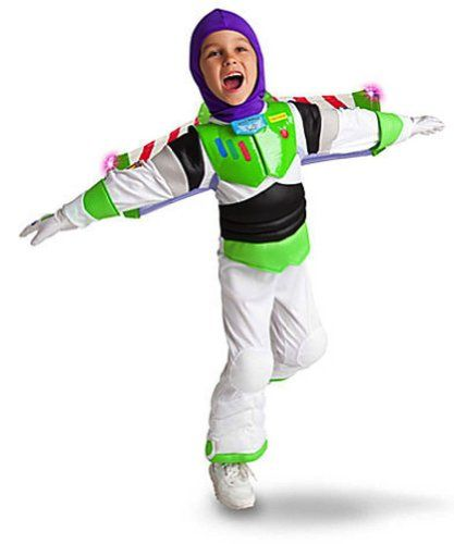 Disney Store Light Up Toy Story 3 Buzz Lightyear Costume for Boys Size Small 5/6 @ niftywarehouse.com #NiftyWarehouse #Toy #Story #Movie #ToyStory #Pixar
